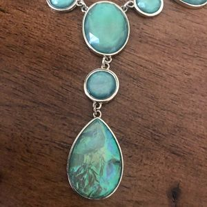 unk Jewelry - Turquoise Necklace & Earrings Set